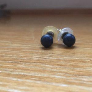 Jewelry - Blue ball earrings
